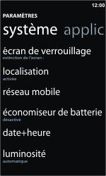 Nokia Lumia 710 - Internet - Configuration manuelle - Étape 4