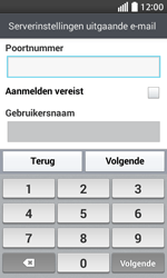 LG Optimus L70 (LG-D320n) - E-mail - Handmatig instellen - Stap 16