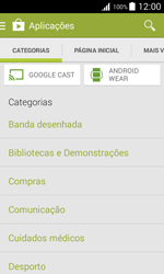 Samsung Galaxy J1 - Aplicações - Como pesquisar e instalar aplicações -  6