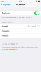 Apple iPhone 6 iOS 9 - Bluetooth - connexion Bluetooth - Étape 8