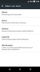 HTC Desire 650 - Sécuriser votre mobile - Activer le code de verrouillage - Étape 6