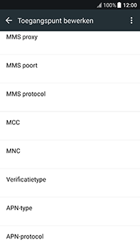 HTC U11 - MMS - handmatig instellen - Stap 9