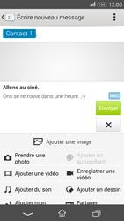 Sony E2003 Xperia E4G - MMS - envoi d'images - Étape 14