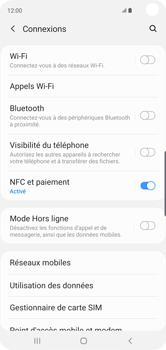 Samsung Galaxy S10 - Internet - activer ou désactiver - Étape 5