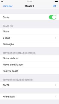 Apple iPhone 7 Plus iOS 11 - Email - Configurar a conta de Email -  22
