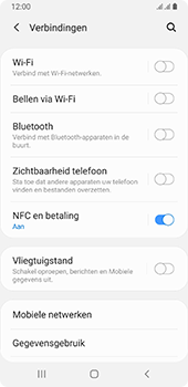 Samsung galaxy-a8-2018-sm-a530f-android-pie - NFC - NFC activeren - Stap 6