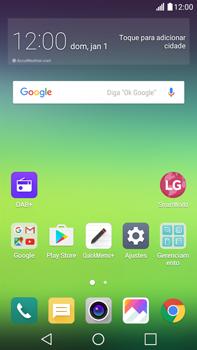 LG G5 Stylus - Primeiros passos - Como encontrar o número de IMEI do seu aparelho - Etapa 1