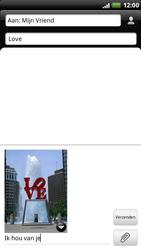 HTC X515m EVO 3D - MMS - Afbeeldingen verzenden - Stap 11