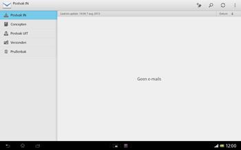 Sony SGP321 Xperia Tablet Z LTE - E-mail - e-mail instellen: POP3 - Stap 19
