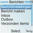 Nokia 6030 - SMS - handmatig instellen - Stap 4
