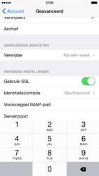 Apple iPhone 6 iOS 8 - E-mail - Account instellen (IMAP met SMTP-verificatie) - Stap 26