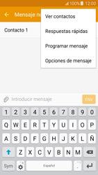 Samsung Galaxy J5 - Mensajería - Escribir y enviar un mensaje multimedia - Paso 12