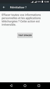Acer Liquid Zest 4G Plus - Device maintenance - Retour aux réglages usine - Étape 8