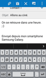 Samsung G318H Galaxy Trend 2 Lite - E-mail - Envoi d