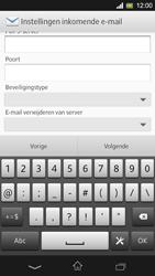 Sony C5303 Xperia SP - E-mail - Handmatig instellen - Stap 10