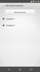Sony Xperia Z1 4G (C6903) - Contacten en data - Contacten kopiëren van SIM naar toestel - Stap 8