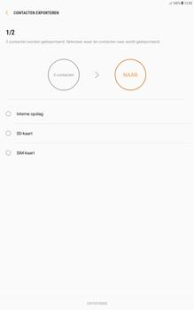 Samsung galaxy-tab-a-10-1-android-oreo - Contacten en data - Contacten kopiëren van toestel naar SIM - Stap 8