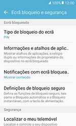 Samsung Galaxy Xcover 3 (G389) - Segurança - Como ativar o código de bloqueio do ecrã -  12