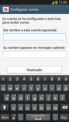 Samsung Galaxy S4 - E-mail - Configurar Yahoo! - Paso 9