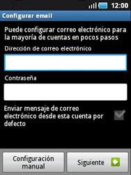Samsung S5570 Galaxy Mini - E-mail - Configurar correo electrónico - Paso 4