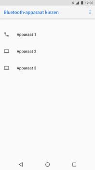 Nokia 6.1 - Contactgegevens overzetten - delen via Bluetooth - Stap 11