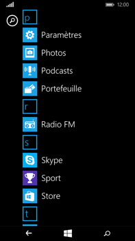 Microsoft Lumia 640 XL - Applications - Télécharger des applications - Étape 3