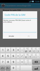 Bouygues Telecom Bs 471 - Sécuriser votre mobile - Personnaliser le code PIN de votre carte SIM - Étape 11
