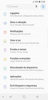 Samsung Galaxy S8 - Android Oreo - Internet no telemóvel - Como configurar ligação à internet -  4