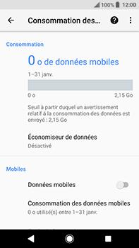 Sony Xperia XA2 Ultra - Internet et connexion - Désactiver la connexion Internet - Étape 8