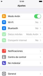 Apple iPhone SE iOS 10 - Funciones básicas - Activar o desactivar el modo avión - Paso 4