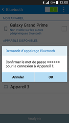 Samsung G530FZ Galaxy Grand Prime - Bluetooth - connexion Bluetooth - Étape 9