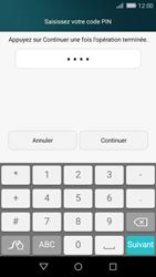 Huawei P8 Lite - Sécuriser votre mobile - Activer le code de verrouillage - Étape 7