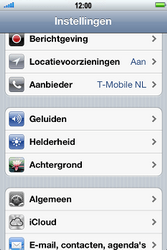 Apple iPhone 3G S met iOS 5 - Probleem oplossen - Toestel resetten - Stap 3