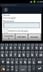 Samsung I9070 Galaxy S Advance - Wifi - configuration manuelle - Étape 7