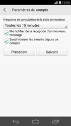 Huawei Ascend P7 - E-mail - Configuration manuelle - Étape 19