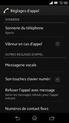 Sony C1905 Xperia M - Messagerie vocale - Configuration manuelle - Étape 5