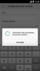 Huawei Ascend Y550 - E-mail - Configuration manuelle - Étape 18