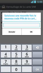 LG Optimus L5 II - Sécuriser votre mobile - Personnaliser le code PIN de votre carte SIM - Étape 11