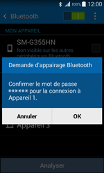 Samsung G355 Galaxy Core 2 - Bluetooth - connexion Bluetooth - Étape 9