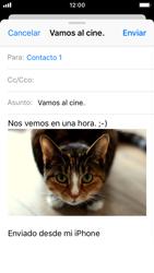 Apple iPhone SE iOS 11 - E-mail - Escribir y enviar un correo electrónico - Paso 14