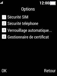 Crosscall Spider X5 - Sécuriser votre mobile - Personnaliser le code PIN de votre carte SIM - Étape 5