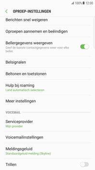 Samsung Galaxy S6 Edge+ - Android Nougat - Voicemail - handmatig instellen - Stap 7