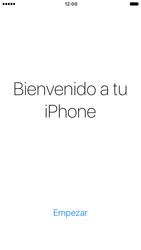 Apple iPhone 6 iOS 10 - Primeros pasos - Activar el equipo - Paso 26