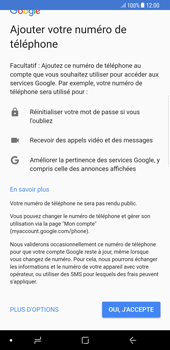 Samsung Galaxy S8 Plus - Android Oreo - Applications - Créer un compte - Étape 12