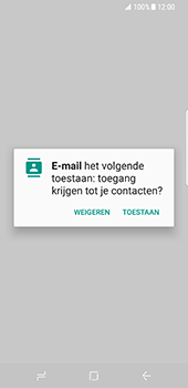 Samsung Galaxy S8 (G950) - E-mail - Account instellen (IMAP zonder SMTP-verificatie) - Stap 5