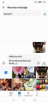 Huawei P20 lite - Contact, Appels, SMS/MMS - Envoyer un MMS - Étape 18