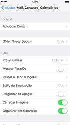 Apple iPhone iOS 9 - Email - Como configurar seu celular para receber e enviar e-mails - Etapa 4