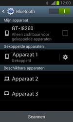 Samsung I8260 Galaxy Core - Bluetooth - headset, carkit verbinding - Stap 8