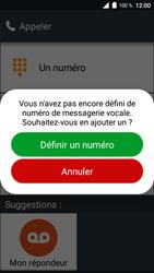 Doro 8035 - Messagerie vocale - Configuration manuelle - Étape 5