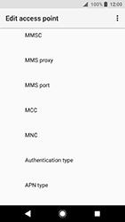 Sony Xperia XA2 - MMS - Manual configuration - Step 11